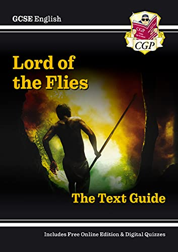 Grade 9-1 GCSE English Text Guide - Lord of the Flies By CGP Books