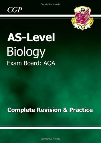 AS-Level Biology AQA Complete Revision & Practice by CGP Books