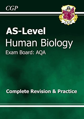 AS-Level Human Biology AQA Complete Revision & Practice By CGP Books
