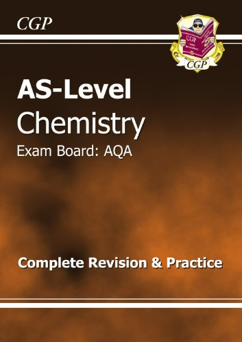 AS-Level Chemistry AQA Complete Revision & Practice by CGP Books