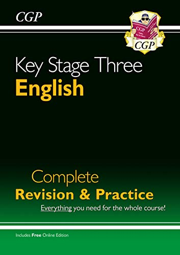 New KS3 English Complete Study & Practice (with Online Edition) (CGP KS3 English) By CGP Books