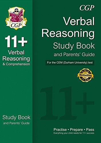11+ Verbal Reasoning Study Book and Parents' Guide for the CEM Test von CGP Books