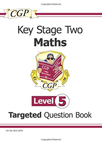 KS2 Maths Question Book - Level 5 by CGP Books