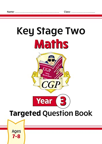 KS2 Maths Targeted Question Book - Year 3 By CGP Books