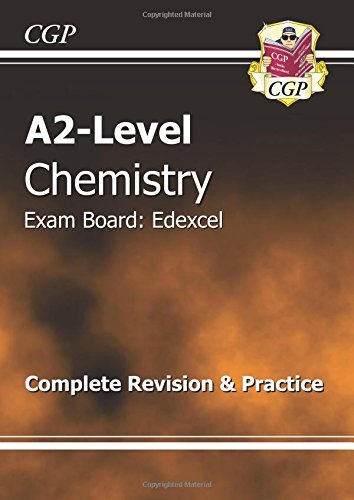 A2-Level Chemistry Edexcel Complete Revision & Practice by CGP Books