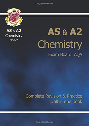 AS/A2 Level Chemistry AQA Complete Revision & Practice for exams until 2016 only By CGP Books