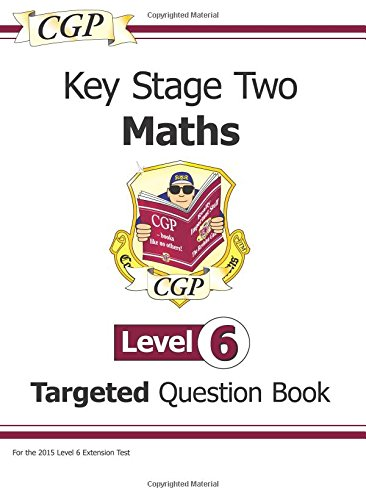 KS2 Maths Question Book - Level 6 by CGP Books