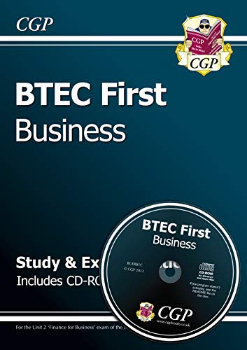 BTEC First in Business - Study & Exam Practice with CD-ROM By CGP Books