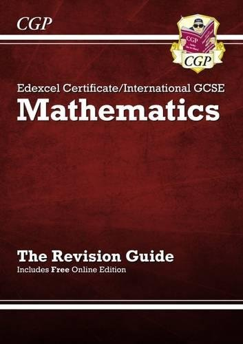 Edexcel Certificate / International GCSE Maths Revision Guide (with Online Edition) by Richard Parsons