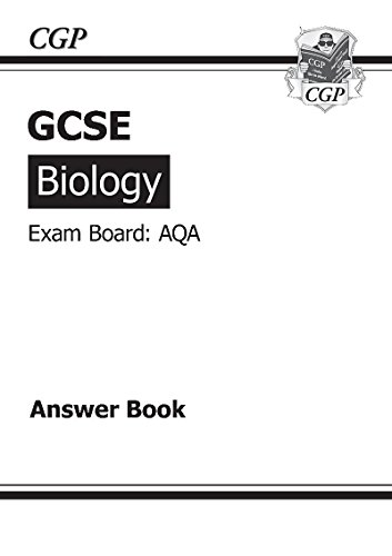 GCSE Biology AQA Answers (for Workbook) (A*-G Course) By CGP Books