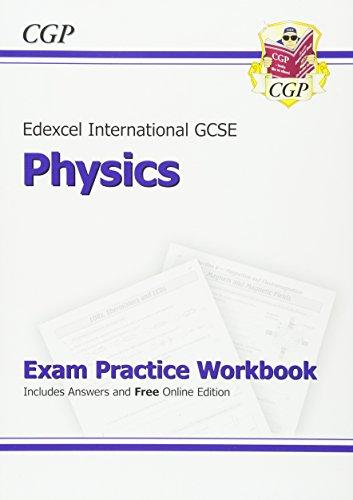 Edexcel International GCSE Physics Exam Practice Workbook with Answers (A*-G Course) von CGP Books