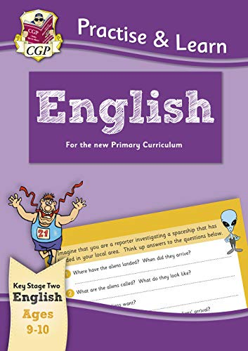 New Practise & Learn: English for Ages 9-10 By CGP Books