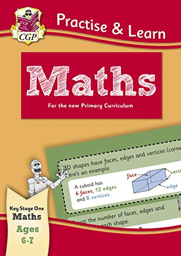New Practise & Learn: Maths for Ages 6-7 By CGP Books