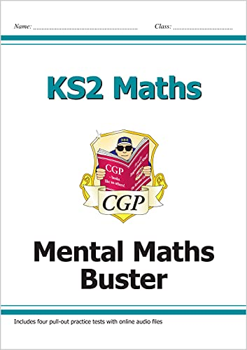 KS2 Maths - Mental Maths Buster (with Audio Tests) by CGP Books