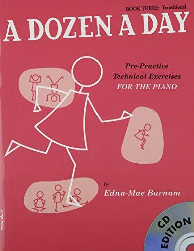 A Dozen a Day Book 3 + CD By Edna Mae Burnam