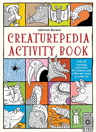 Creaturepedia Activity Book By Adrienne Barman