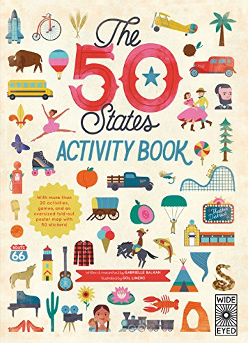 The 50 States: Activity Book By Gabrielle Balkan