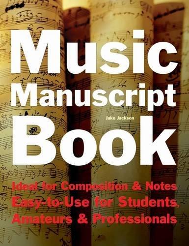 Music Manuscript Book By Jake Jackson
