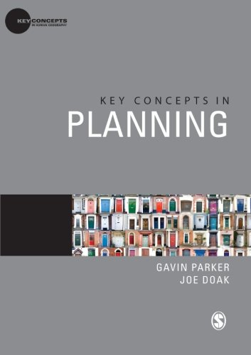 Key Concepts in Planning (Key Concepts in Human Geography) By Gavin Parker