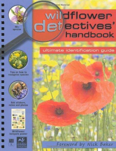 Wildflower Detectives' Handbook by Camilla De la Bedoyere