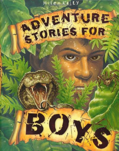 Adventure Stories for Boys by Belinda Gallagher