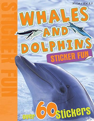 Sticker Fun - Whales and Dolphins By Kelly Miles