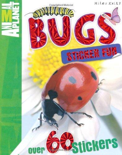 Bugs Sticker Fun By Miles Kelly