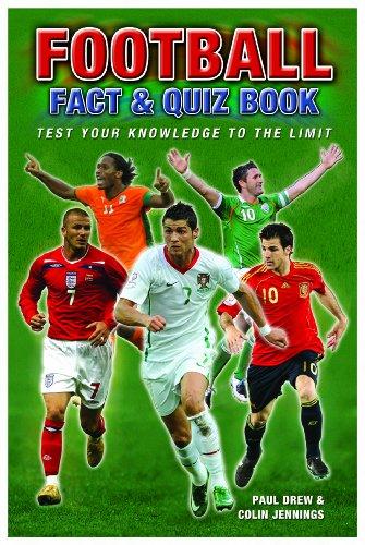 Football Quiz Book By Paul Drew