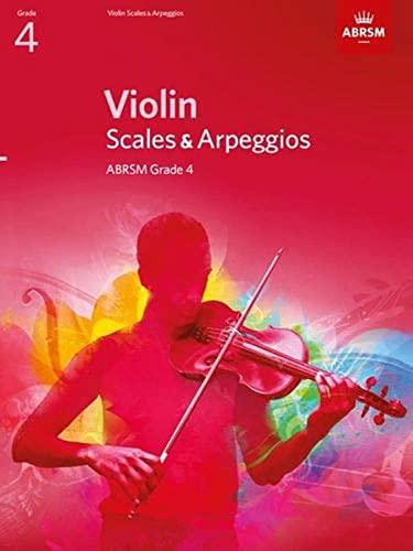 Violin Scales & Arpeggios, ABRSM Grade 4 By ABRSM