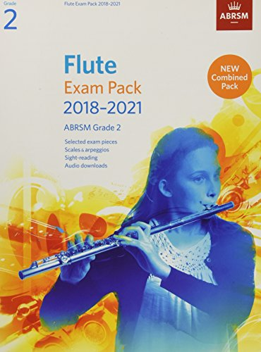 Flute Exam Pack 2018-2021, ABRSM Grade 2 By ABRSM