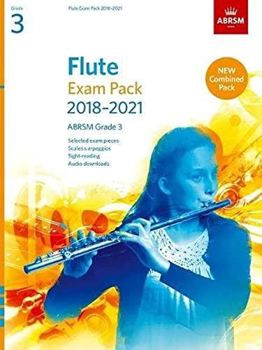 Flute Exam Pack 2018-2021, ABRSM Grade 3 By ABRSM
