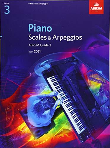 Piano Scales & Arpeggios, ABRSM Grade 3 By ABRSM