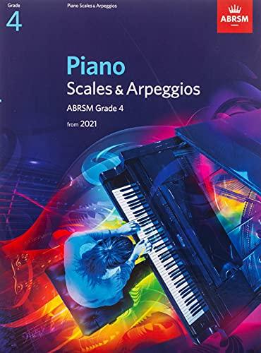 Piano Scales & Arpeggios, ABRSM Grade 4 By ABRSM