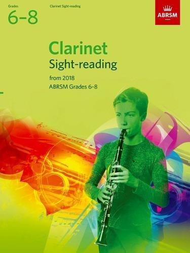 Clarinet Sight-Reading Tests, ABRSM Grades 6-8 By ABRSM