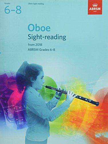 Oboe Sight-Reading Tests, ABRSM Grades 6-8