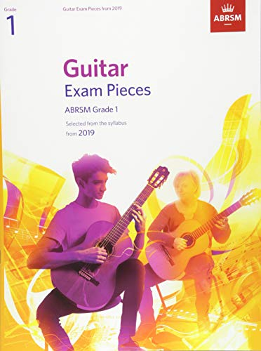 Guitar Exam Pieces from 2019, ABRSM Grade 1 By ABRSM