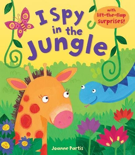 I Spy in the Jungle By Joanne Partis