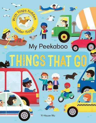 My Peekaboo Things That Go By Jonny Marx
