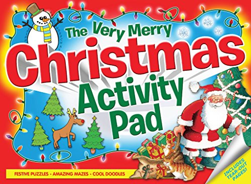 The Very Merry Christmas Activity Pad By Various Experts Various Experts