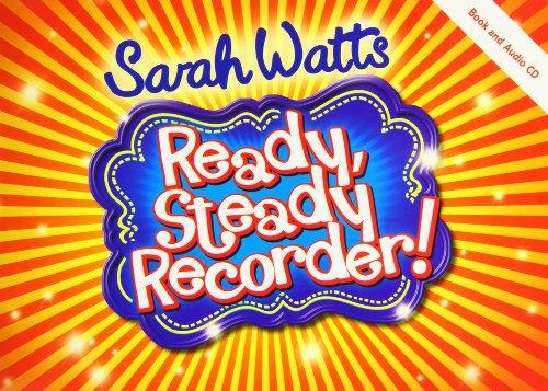 Ready, Steady Recorder! Pupil Book & CD von Sarah Watts