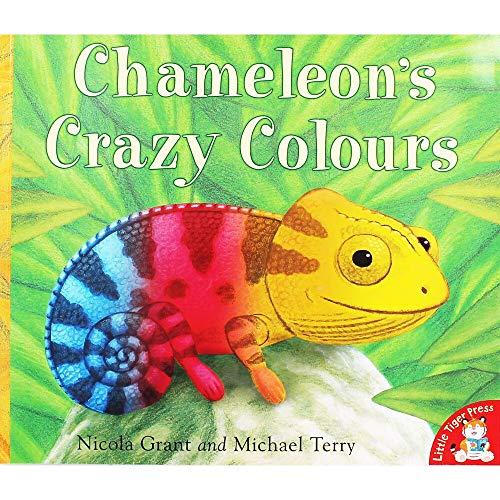 Little Tiger Press Chameleons Crazy Colours
