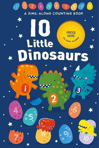 10 Little Dinosaurs By Damien and Lisa Barlow