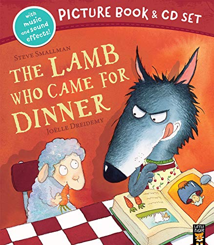 The Lamb Who Came for Dinner Book & CD By Steve Smallman