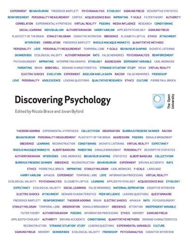 Discovering Psychology by Nicola Brace