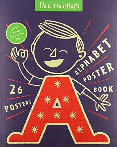 Paul Thurlby's Alphabet Poster Book By Paul Thurlby
