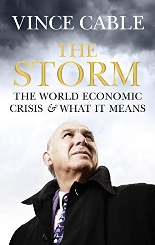 The Storm: The World Economic Crisis and What it Means by Vince Cable