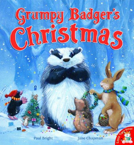 Grumpy Badger's Christmas By Paul Bright