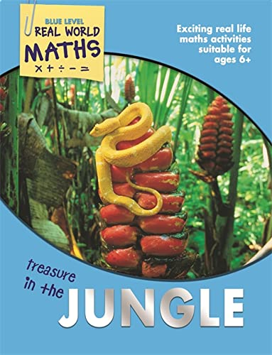 Real World Maths Blue Level: Treasure In The Jungle By Wendy Clemson