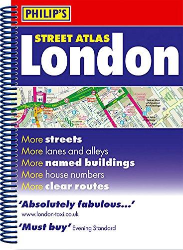 Philip's Street Atlas London By Philip's Maps