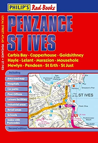 Philip-039-s-Red-Books-Penzance-and-St-Ives-Philips-Red-Bo-by-Philips-1849071233